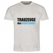 "T-Shirt ""Trauzeuge des Bräutigams"""